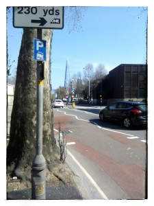 Streets in London, UK: Newington Causeway